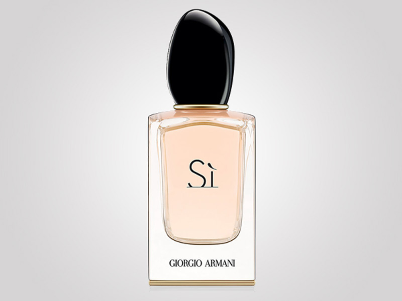 Giorgio Armani Si fragrance is Harrods exclusive ...
