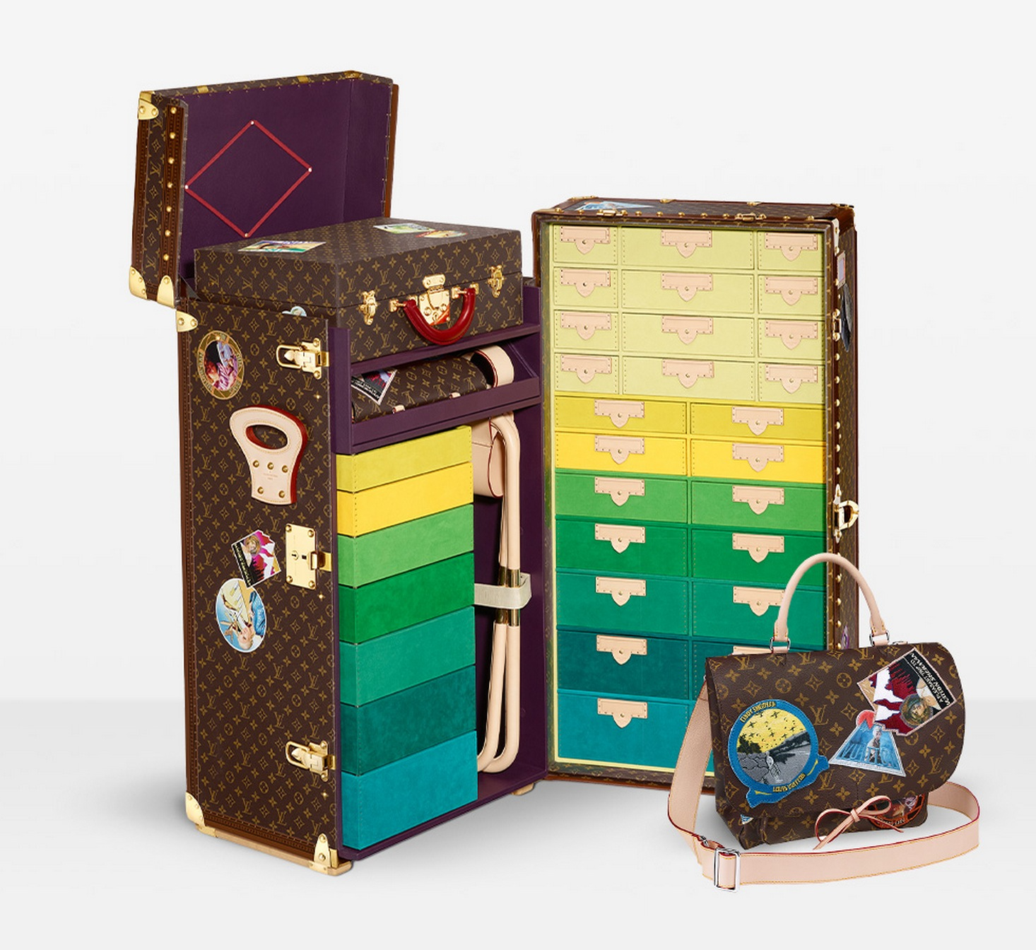 In de koffer met Louis Vuitton | Independent Fashion Daily